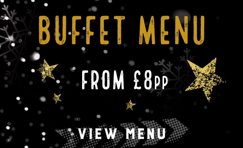 Festive buffet menu at The White Rose
