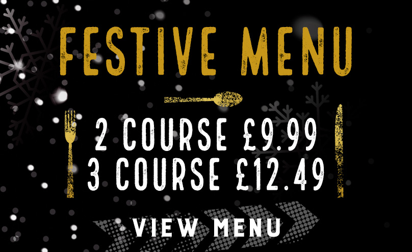 Festive Menu at The White Rose
