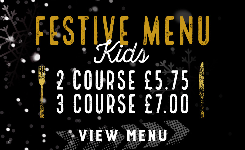 Kids Festive Menu at The White Rose