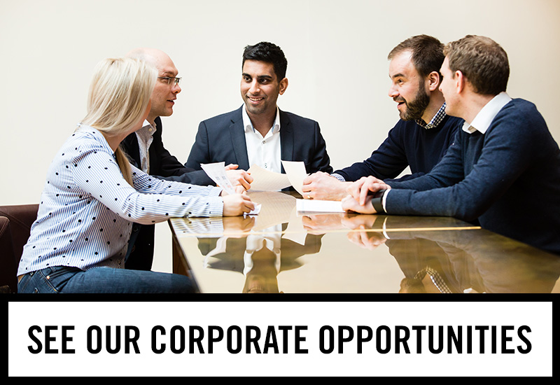Corporate opportunities at The White Rose