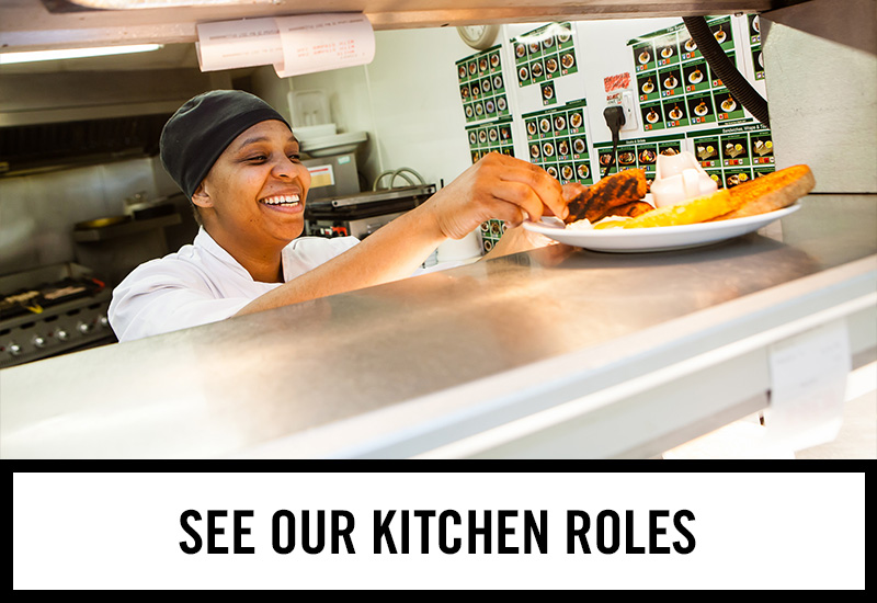 Kitchen roles at The White Rose