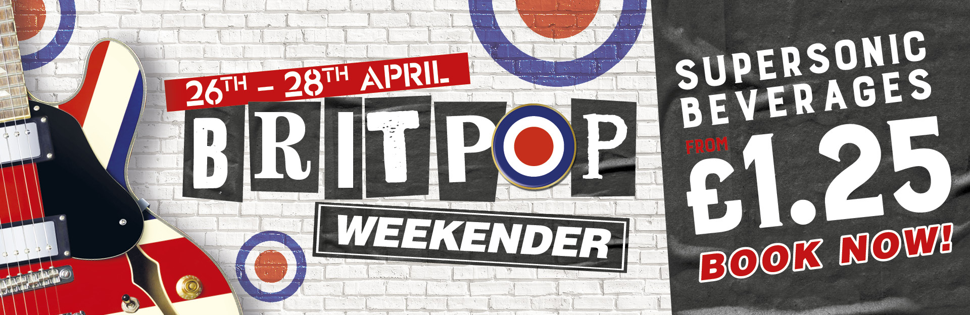 Britpop Weekender at The White Rose
